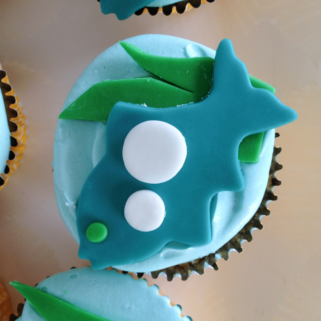 Marshmallow Fondant & Cupcakes of the Sea | toni woo + food
