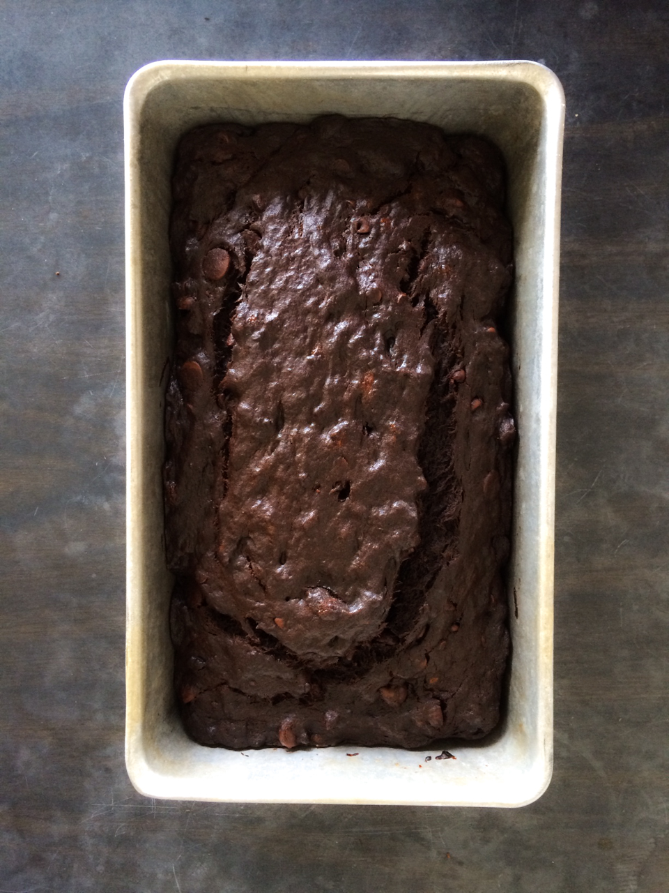 Bad Day Double Chocolate Banana Bread | toni woo + food