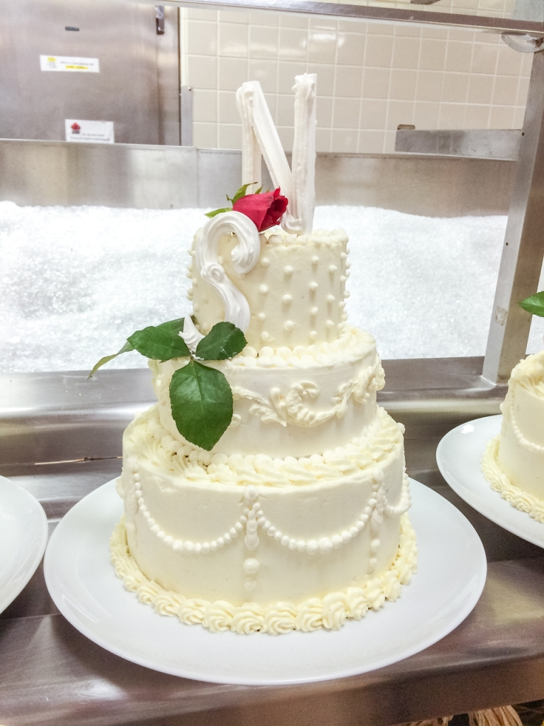 buttercream wedding cake | toni woo + food