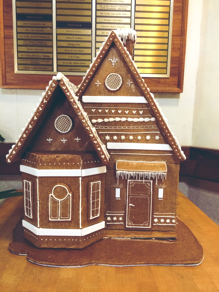 gingerbread house | toni woo + food